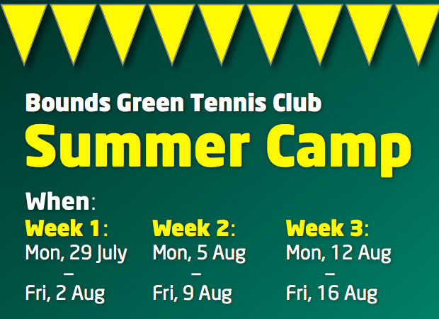 leaflet image | Bounds Green Bowls and Tennis Club